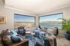 Panoramic view from lounge