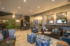 Inviting lounge