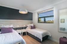 Bedroom in family unit