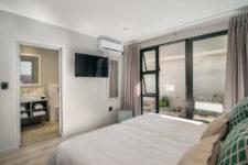 En-suite bedroom in family unit